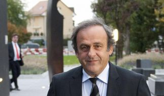 UEFA-Boss Platini: «Blatter wirklich motiviert» (Foto)