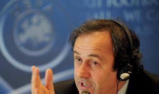 Uefa-Präsident Platini fordert Sportpolizei (Foto)