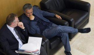UEFA-Sperre gegen Mourinho nur leicht gelockert (Foto)
