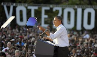 Umfrage: Obama verliert bei Kongresswahl (Foto)