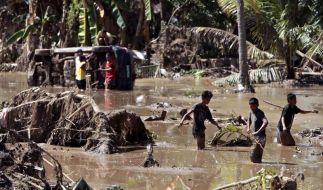 UN benötigt Spenden für Flutopfer in Mindanao (Foto)
