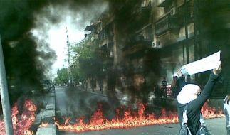 UN-Beobachter haben in Syrien schweren Start (Foto)