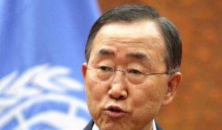 UN-Generalsekretär will Bestrafung syrischer Kriegsverbrecher (Foto)