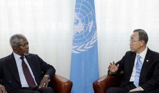 UN schicken Beobachter nach Syrien (Foto)