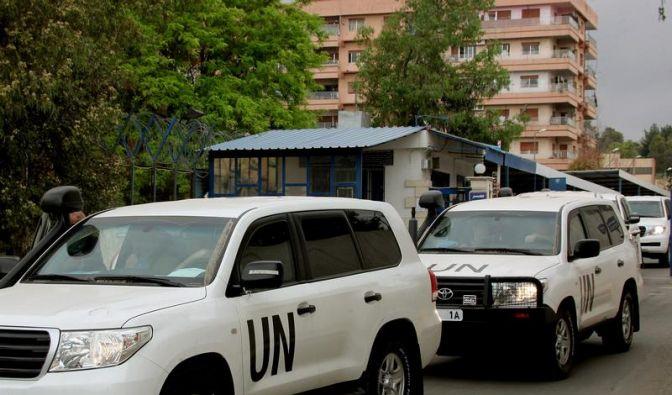 UN-Syrien-Mission ist fast komplett (Foto)