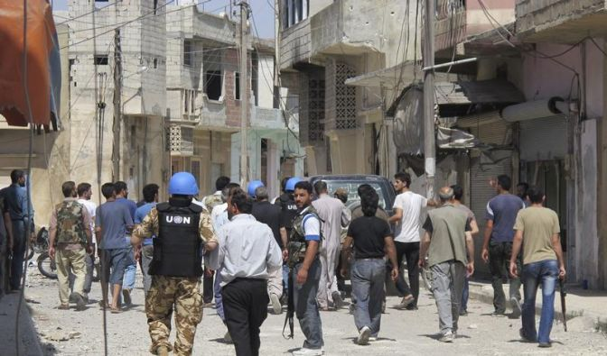 UN und Paris: In Syrien herrscht Bürgerkrieg (Foto)