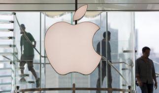 Unangefochtene Nummer eins im Ranking der teuersten börsennotierten Unternehmen weltweit ist Computerriese Apple. (Foto)