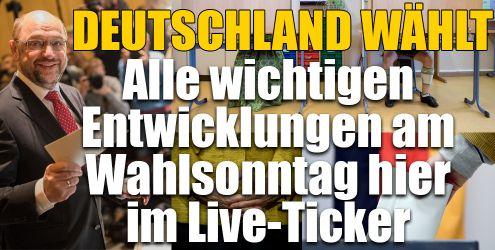 Ticker zur Bundestagswahl 2017 aktuell