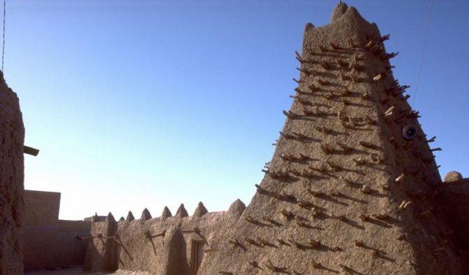 Unesco-Weltkulturerbe in Timbuktu zerstört (Foto)