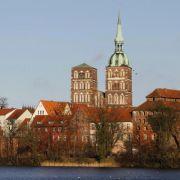 Seit 2002 ist die von Backsteingotik geprägte historische Altstadt Stralsunds Unesco-Weltkulturerbe.