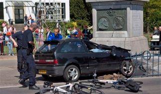 Unfall Beatrix Niederlande Königin (Foto)