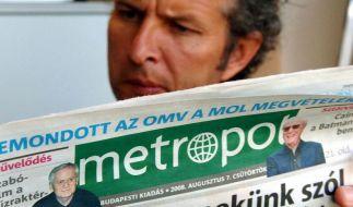 Ungarns Mediengesetz bleibt in EU umstritten (Foto)