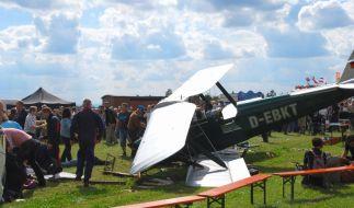 Unglück bei Flugschau (Foto)