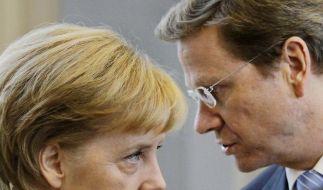 Union und FDP über Steuersenkungen einig (Foto)