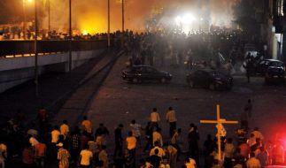 Unruhen in Kairo (Foto)