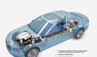 Unter dem gewohnten Blechkleid des 7ers bietet BMW zeitgemäße Hybridtechnologie. (Foto)