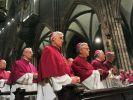 Unter Druck: Deutschlands katholische Bischöfe. (Foto)