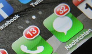 Unter den SMS könnte sich derzeit auch eine Phishing-Attacke befinden. Wer eine angebliche Nachricht von GMX erhält, sollte besonders vorsichtig sein. (Foto)