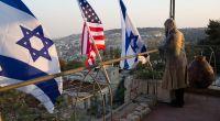 Unterstützer von Donald Trump in Jerusalem. (Foto)