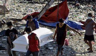 Unwetter auf den Philippinen: Zahl der Toten steigt (Foto)