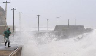 Unwetter in Japan (Foto)