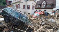 Unwetter sorgten in den vergangen Tagen für verheerende Verwüstungen in Süddeutschland. Am Dienstag trifft es die Nordhälfte der Bundesrepublik. (Foto)