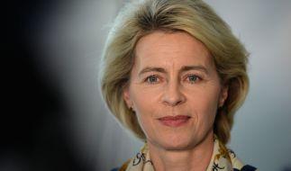 Ursula von der Leyen lässt die Plagiatsvorwürfe prüfen. (Foto)