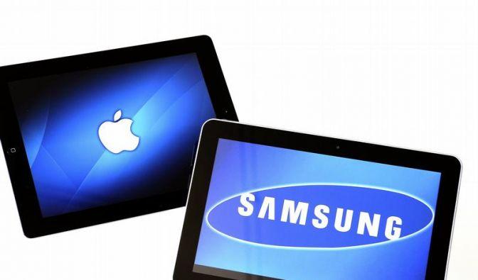 Urteil im Design-Streit zwischen Apple und Samsung verschoben (Foto)