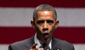 US-Präsident Barack Obama ist für die Mehrzahl der US-Bürger einfach der bessere Alien-Jäger. (Foto)