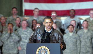 US-Präsident Barack Obama überraschend in Afghanistan (Foto)