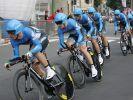 US-Team Garmin gewinnt Giro-Zeitfahren (Foto)