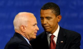 US-Wahlkampf: TV-Duell ohne klaren Sieger (Foto)