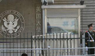 USA und Peking schweigen nach Dissidenten-Flucht (Foto)