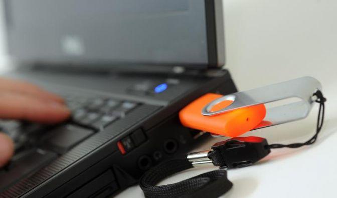 USB-Stick abmelden ist Pflicht (Foto)