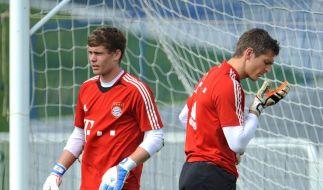 Van Gaal lässt Torwartwechsel bei den Bayern offen (Foto)
