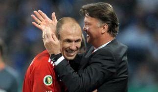 Van Gaal: Robben-Comeback in Wolfsburg geplant (Foto)