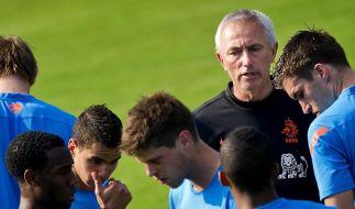 Van Marwijk nimmt Youngsters mit zur Fußball-EM (Foto)