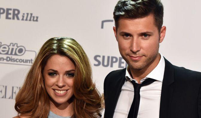 Vanessa Mai und ihr Verlobter Andreas Ferber. (Foto)