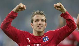 VdV zurück in Hamburg: Für 13 Millionen kehrt offenbar Rafael van der Vaart zurück zum HSV. (Foto)