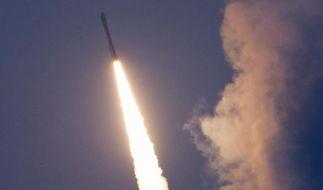 Vega-Rakete startet erfolgreich ins All (Foto)