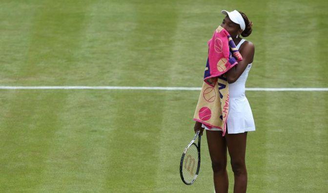 Venus Williams: Langsamer Abschied der Wimbledon-Queen (Foto)