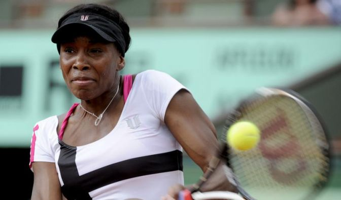 Venus Williams scheitert in Paris in der zweiten Runde (Foto)