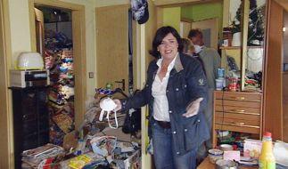 Vera Int-Veen ist geschockt: Mit so viel Müll hätte sie nicht gerechnet. (Foto)