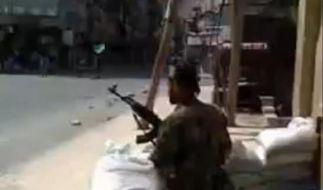 Verbissener Kampf um Aleppo (Foto)