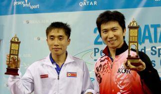 «Vereintes» Korea gewinnt Tischtennisturnier (Foto)