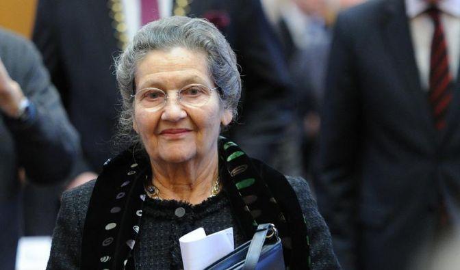Verfechterin Europas: Heine-Preis für Simone Veil (Foto)