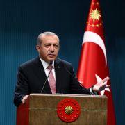 Verhaftungswelle: Staatspräsident Recep Tayyip Erdogan geht nach dem Putschversuch am 15. Juli 2016 auch gegen türkische Journalisten und Medien vor. (Foto)