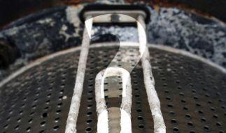 Verkalkter Heizstab in der Waschmaschine (Foto)