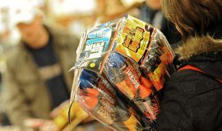 Verkauf von Silvester-Knallern startet am Dienstag (Foto)
