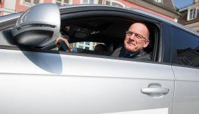 Verkehrsminister Hermann staunt beim Spritspar-Training (Foto)
